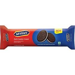 Mcvities Dark Cookie Cream 120gm