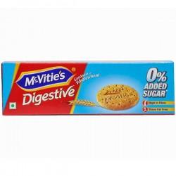Mcvities Digestive Zero Added Sugar Biscuit 75gm